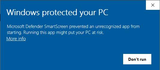 Windows Defender SmartScreen вредит независимым разработчикам - 1
