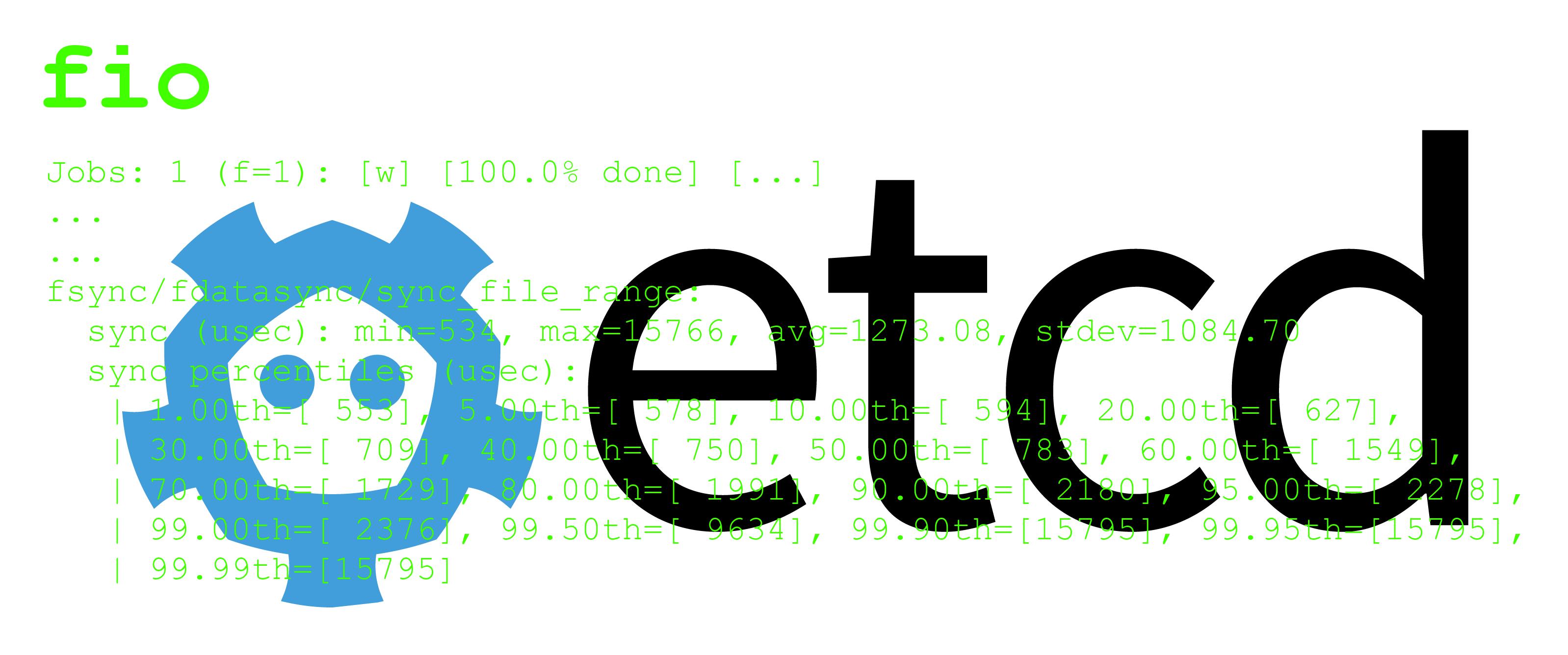 Как с fio проверить диски на достаточную производительность для etcd - 1