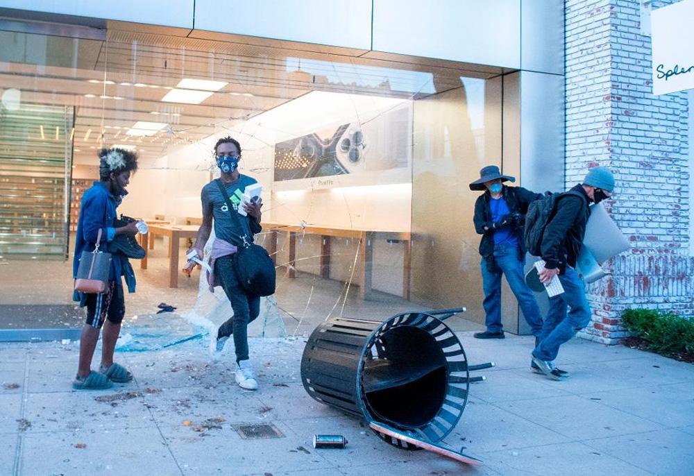 Apple отслеживает разграбленные iPhone и выдает мародёров полиции - 1