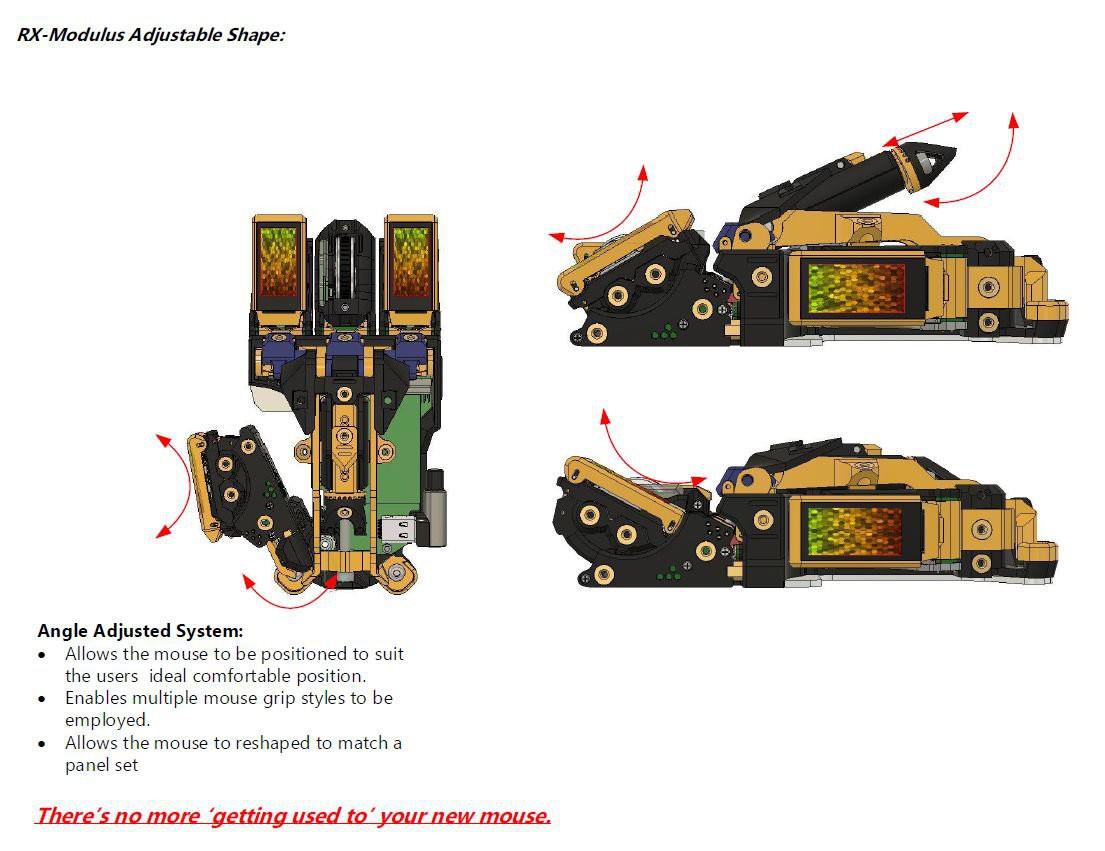 RX-Modulus: полностью модульная компьютерная мышь - 11