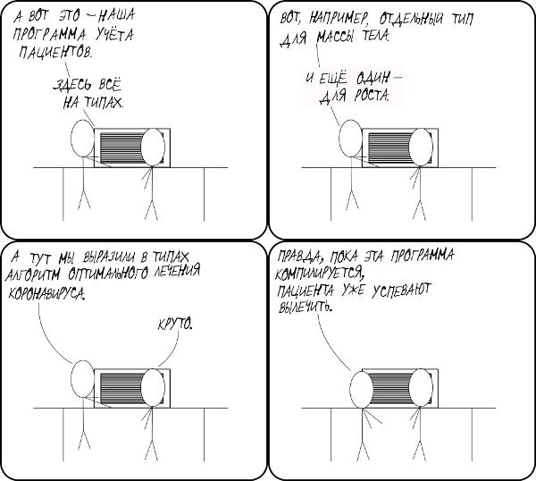 КДПВ в подражание XKCD