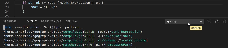 gogrep: структурный поиск и замена Go кода - 5