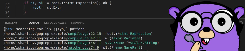 gogrep: структурный поиск и замена Go кода - 1