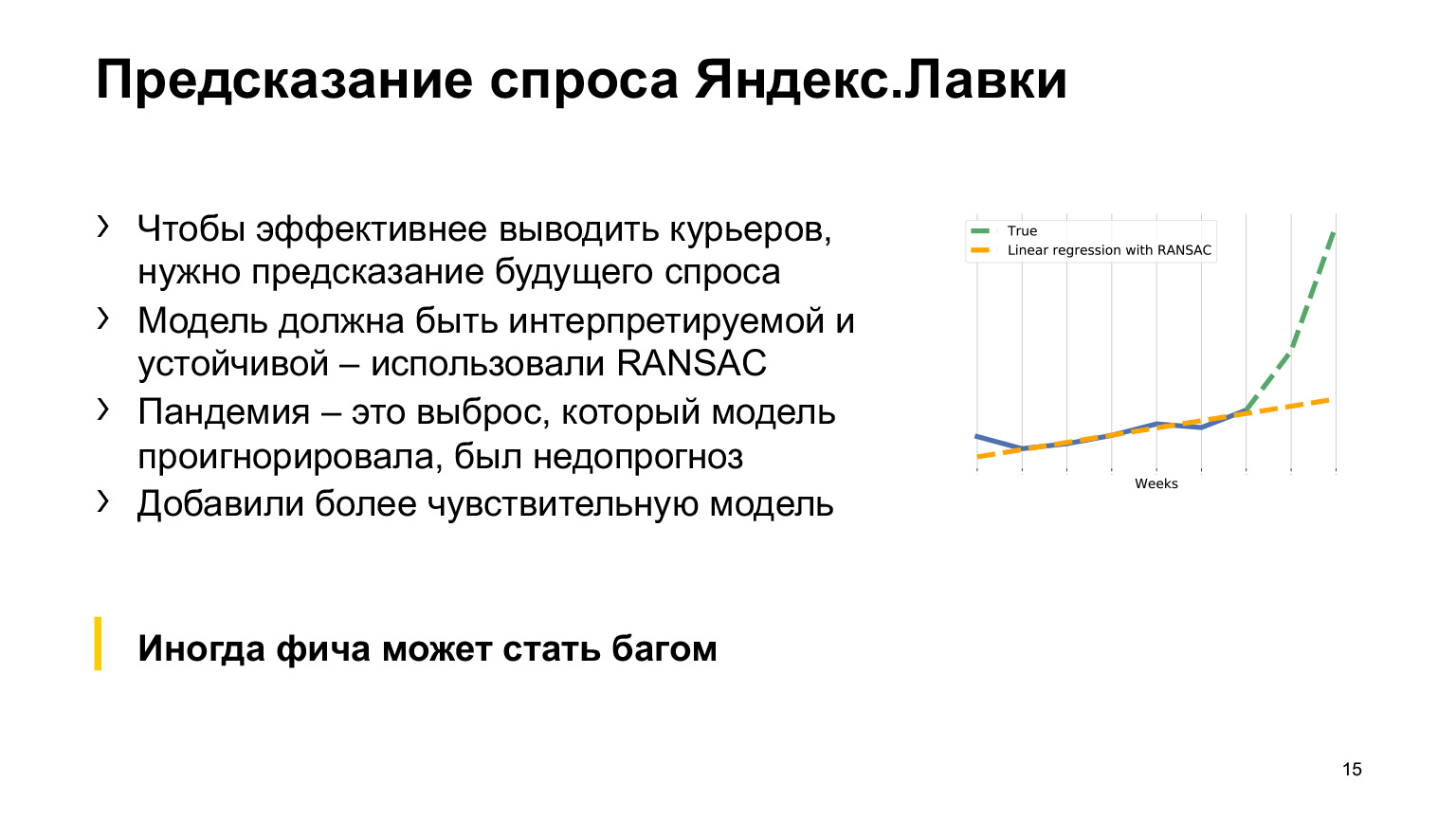 Как коронавирус повлиял на ML-проекты Такси, Еды и Лавки. Доклад Яндекса - 7