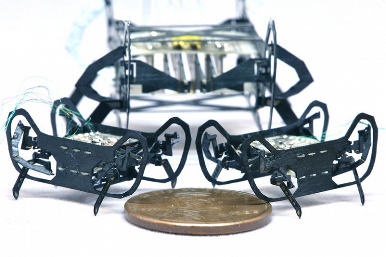 В Гарвардском университете создан робот-таракан следующего поколения