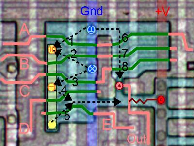 Реверс-инжиниринг микросхем по фото - 3
