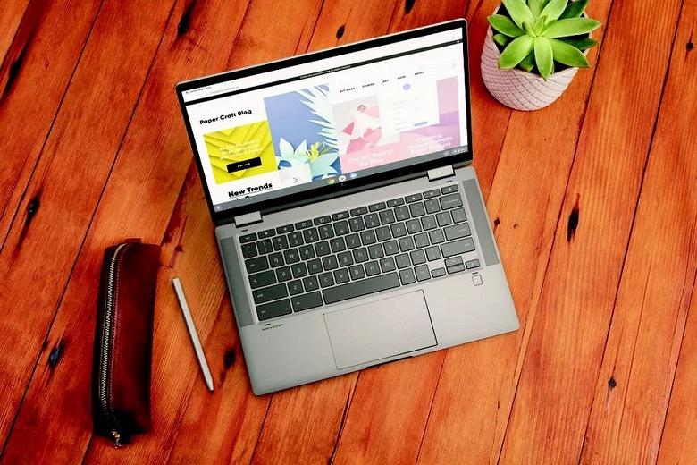 Тонкий металлический премиальный ноутбук HP с процессором Intel за 500 долларов. Секрет в операционной системе