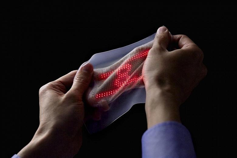 LG готовит экраны, которые можно растягивать