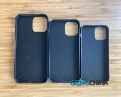 «Давид» iPhone 12 и «Голиаф» iPhone 12 Pro Max. Наглядная разница в размерах на фотографиях чехлов для грядущих смартфонов