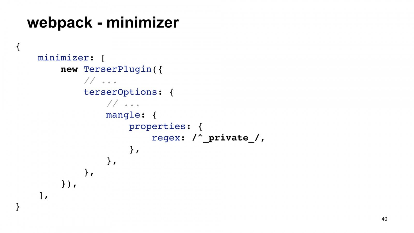 Минифицируем приватные поля в TypeScript. Доклад Яндекса - 40