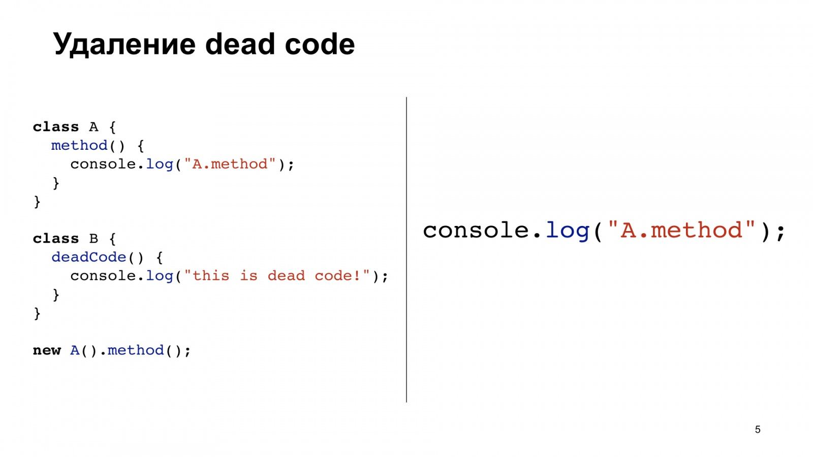 Минифицируем приватные поля в TypeScript. Доклад Яндекса - 5