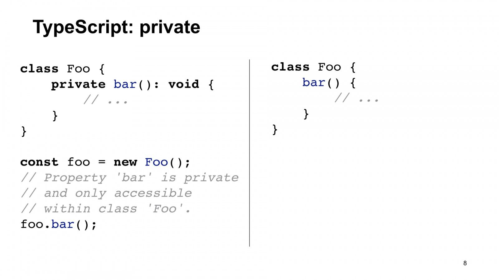 Минифицируем приватные поля в TypeScript. Доклад Яндекса - 8
