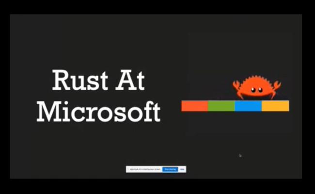 Microsoft: Rust является 'лучшим шансом' в отрасли программирования безопасных систем - 1