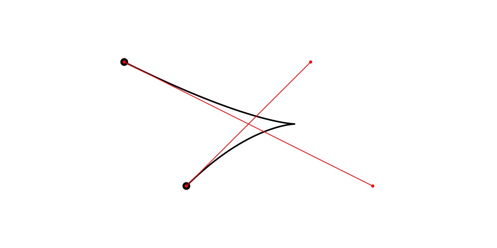 Адаптивное разбиение кривых Безье 2-го и 3-го порядка - 3
