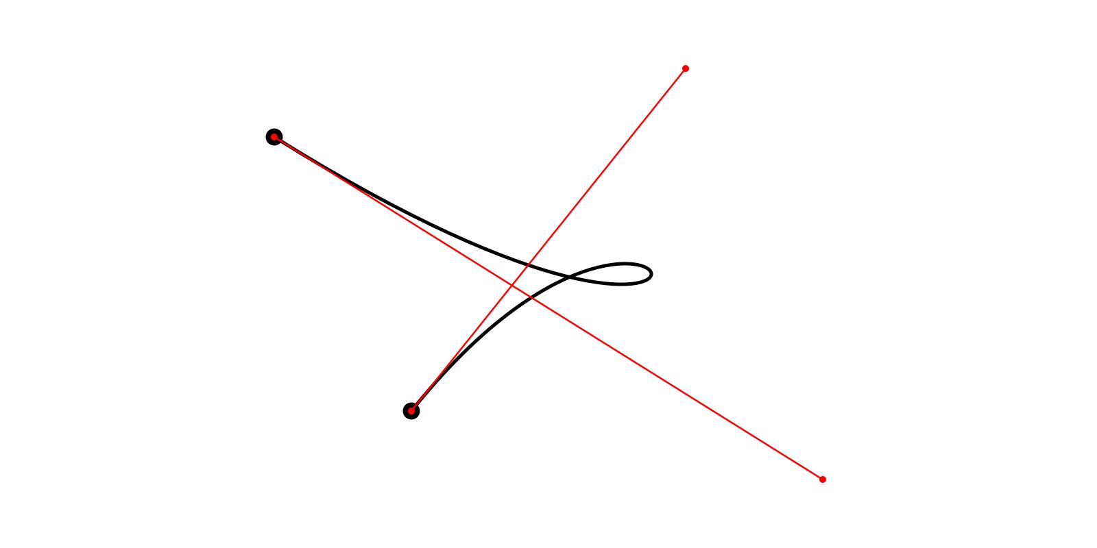Адаптивное разбиение кривых Безье 2-го и 3-го порядка - 4