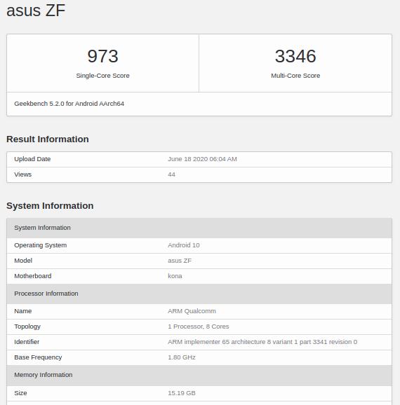 Для фанатов флагманов Asus. ZenFone 7 получит 16 ГБ ОЗУ