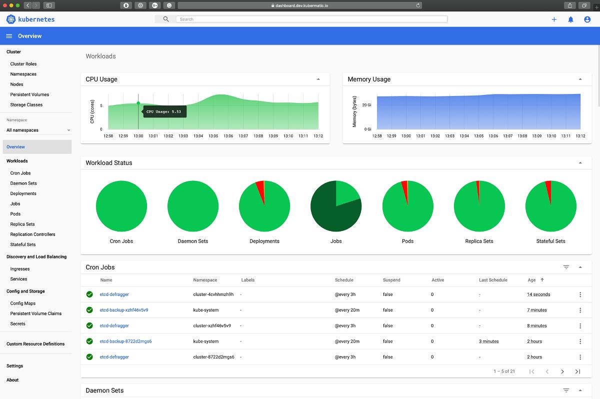 Обзор графических интерфейсов для Kubernetes - 2