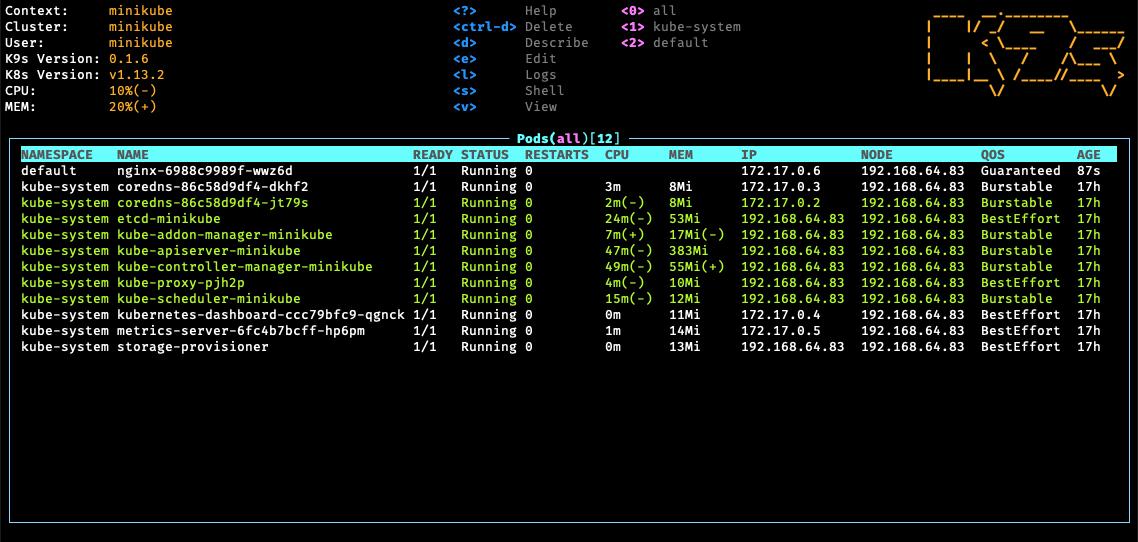 Обзор графических интерфейсов для Kubernetes - 8