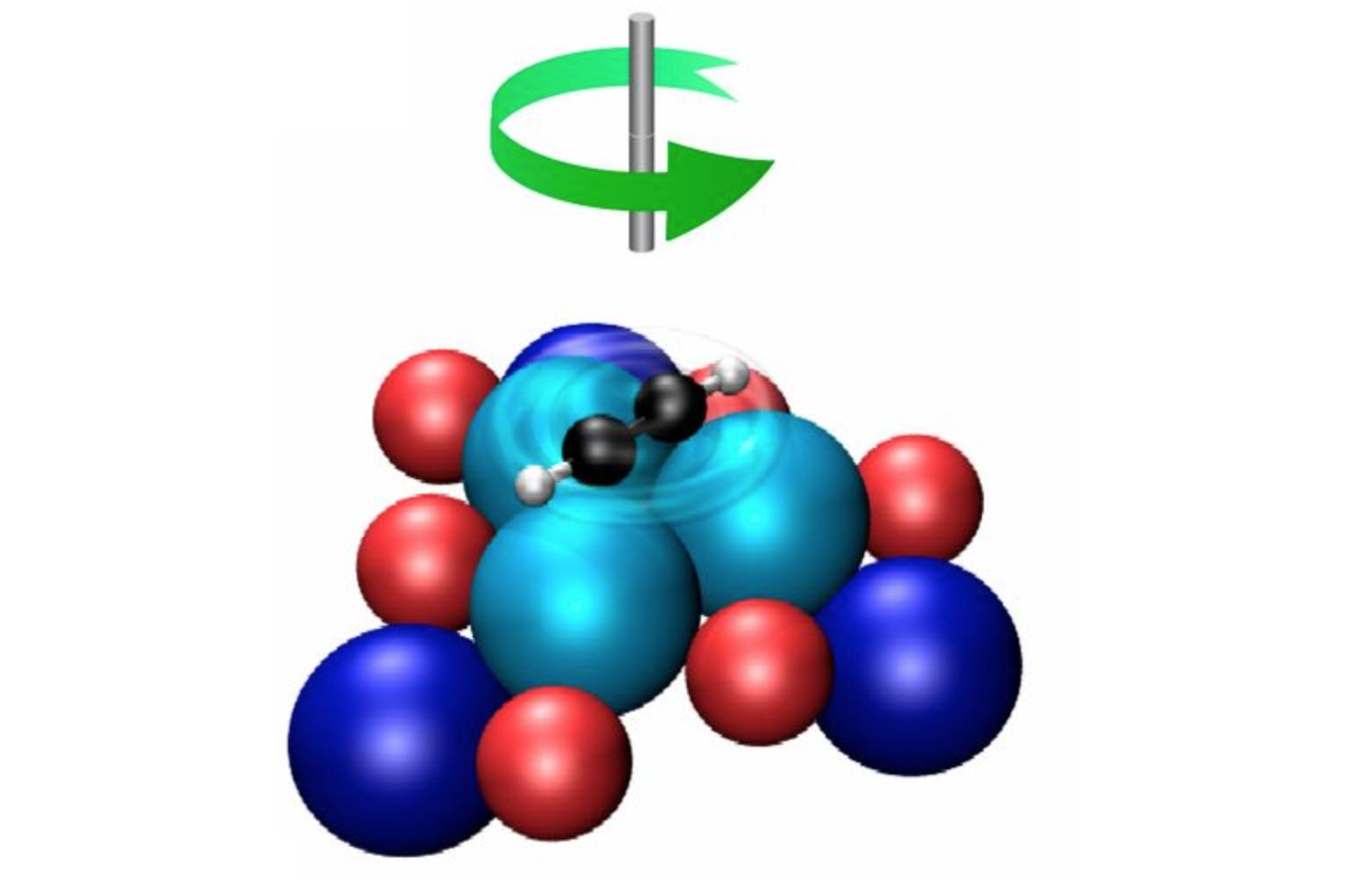 Карусель из 16 атомов: самый маленький молекулярный ротор в мире - 1