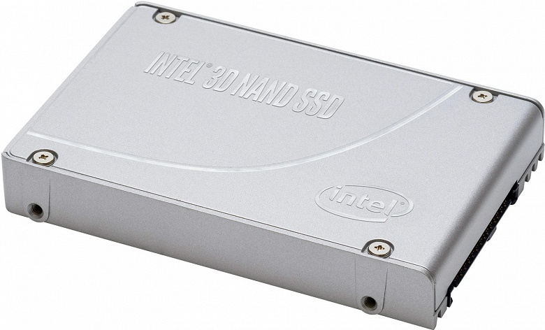 Твердотельные накопители Intel SSD D7-P5500 и D7-P5600 оснащены интерфейсом PCIe Gen4