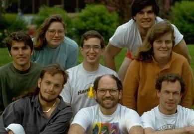 Сотрудники Leg Lab. В центре в первом ряду — Марк Рэйберт