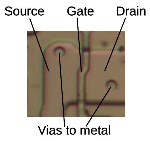 Анализ кристалла сдвигового регистра у математического сопроцессора 8087 - 5