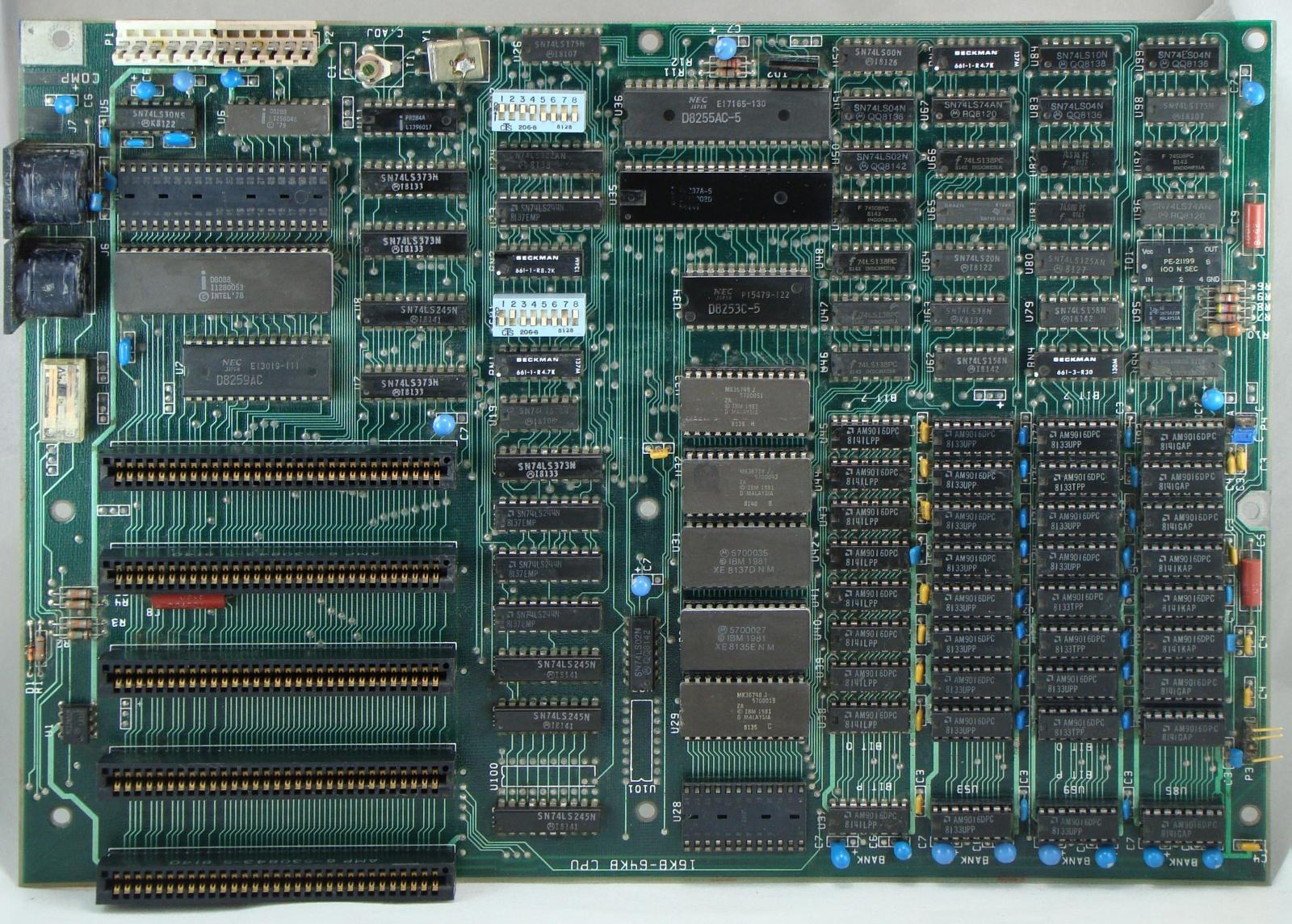 Анализ кристалла сдвигового регистра у математического сопроцессора 8087 - 1