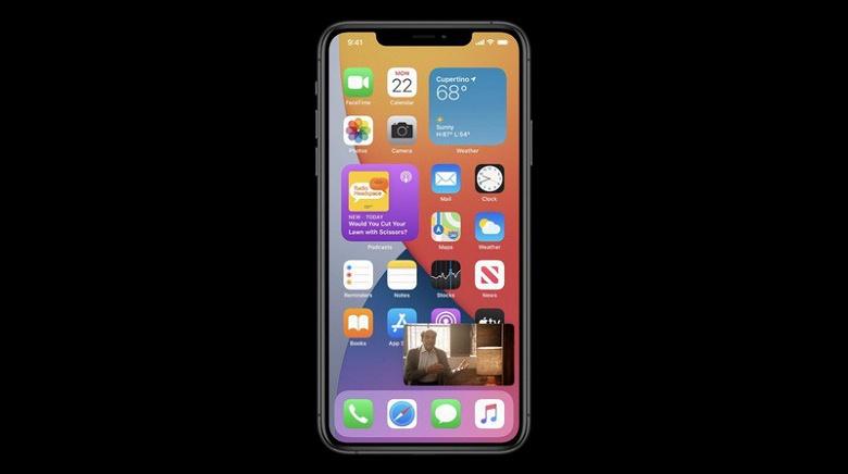 В iOS 14 наконец-то появилось то, что давно было в Android и что много лет просили владельцы iPhone. Теперь звонилка не перекрывает весь экран