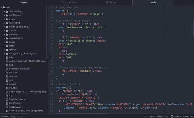 Не хочу Visual Studio Code: 7 open source альтернатив - 3