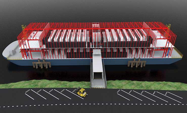 Стартап Nautilus Data Technologies готовит к спуску на воду новый дата-центр - 2