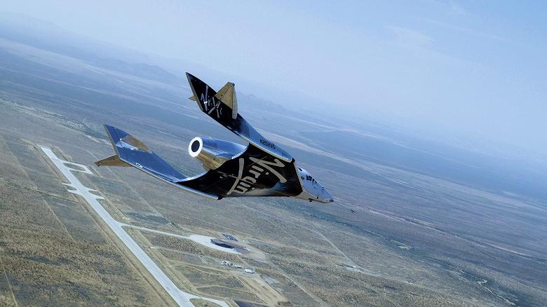 Космический корабль Virgin Galactic SpaceShipTwo совершил второй полет из космопорта «Америка»