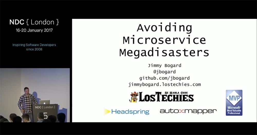 Kонференция NDС London. Предотвращение катастрофы микросервисов. Часть 1 - 1