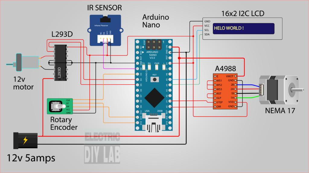 Делаем машину для намотки тороидальных катушек на базе Arduino - 24