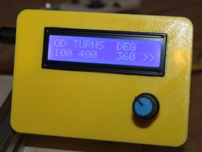 Делаем машину для намотки тороидальных катушек на базе Arduino - 29