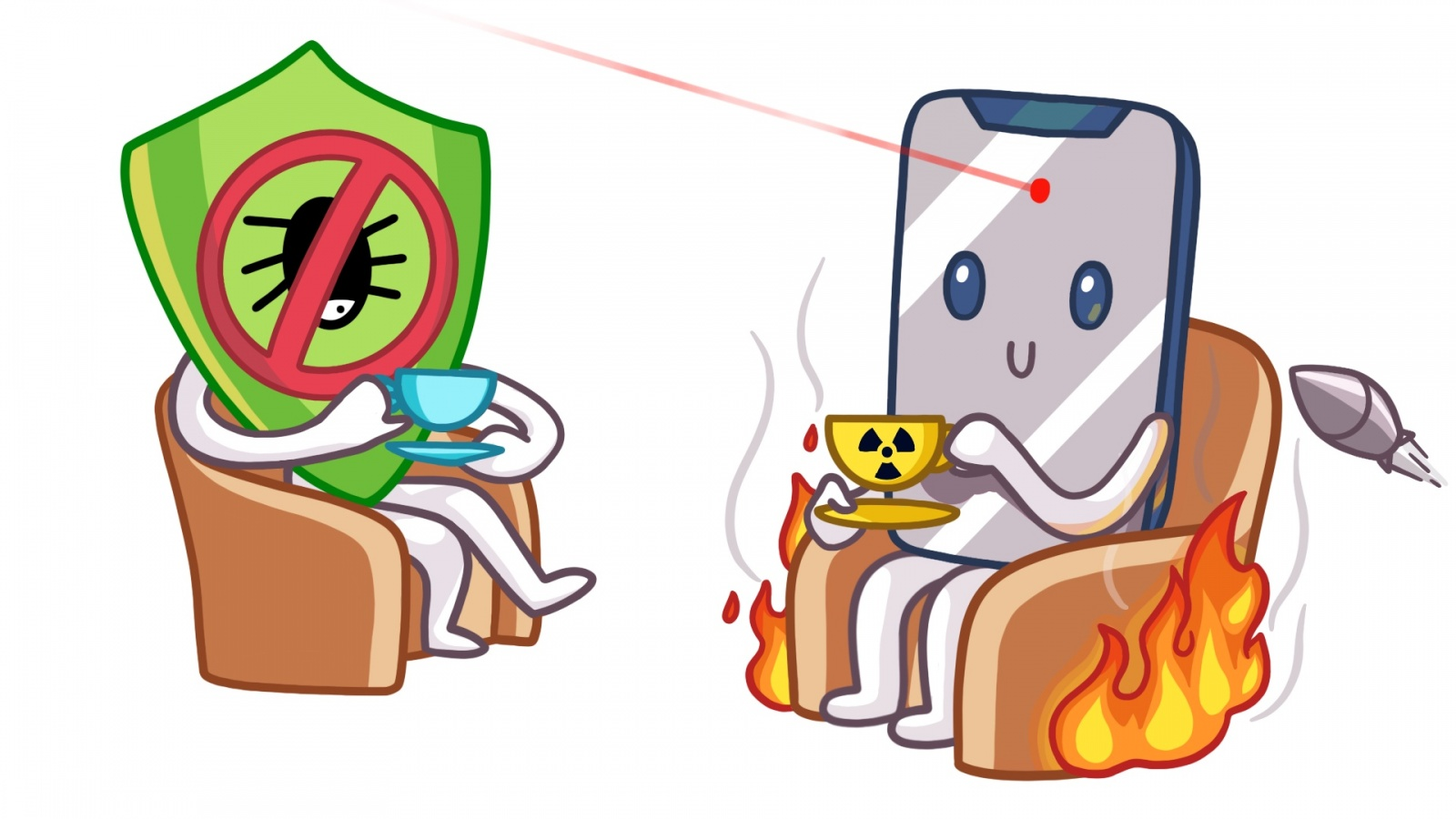 Мобильные антивирусы не работают - 1