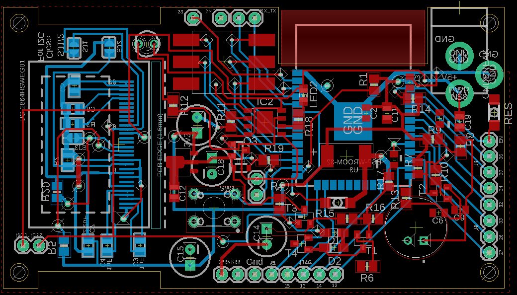 ESP32 development board с кастомным дизайном - 2
