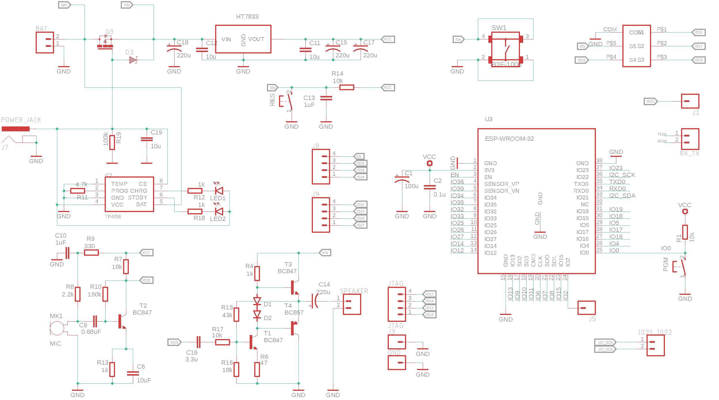 ESP32 development board с кастомным дизайном - 3