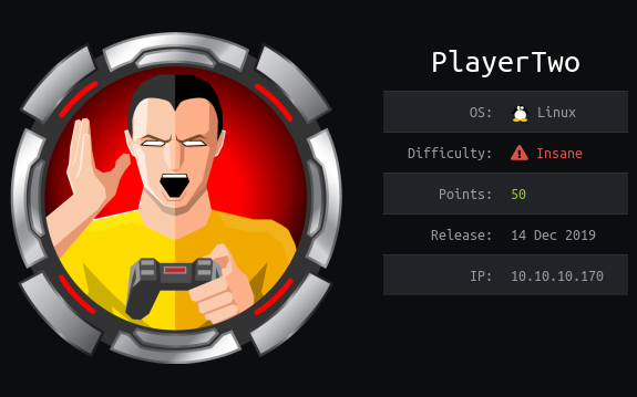 HackTheBox. Прохождение PlayerTwo. Twirp, 2FA bypass, Off-By-One атака - 1