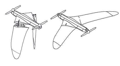 Пропеллеролет: конвертоплан для мониторинга протяженных объектов - 2