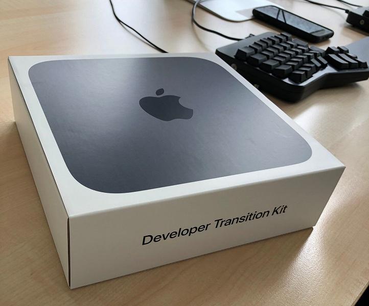Это первые ПК Apple на процессорах собственной разработки компании. Разработчики начали получать свои Developer Transition Kit