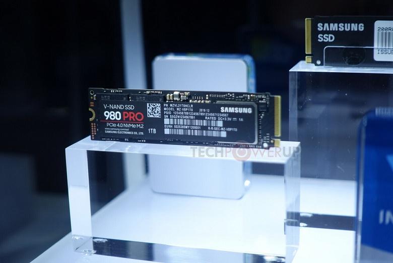 Сверхбыстрый SSD Samsung 980 Pro будет доступен в трёх модификациях объёмом до 1 ТБ