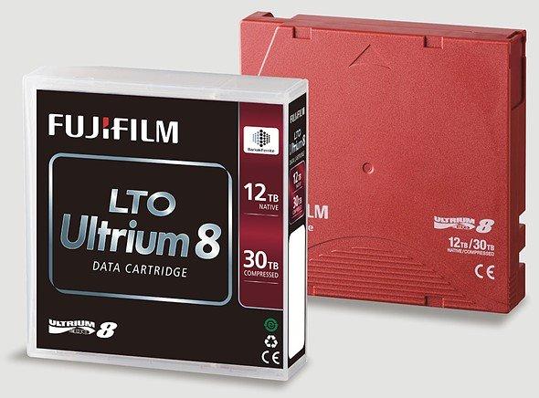 Fujifilm прогнозирует, что сможет создать картриджи на магнитной ленте вместимостью 400 ТБ