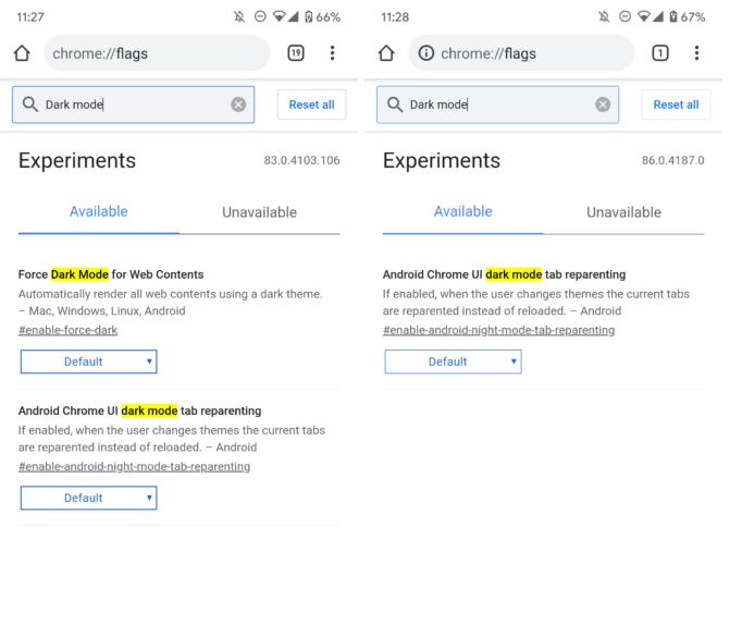 Google отказалась от принудительной тёмной темы в Chrome