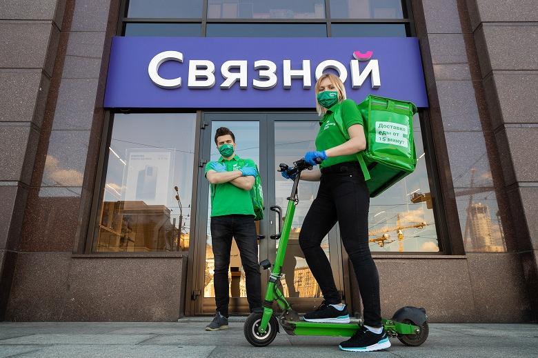 В России заработала срочная бесплатная доставка техники за полчаса