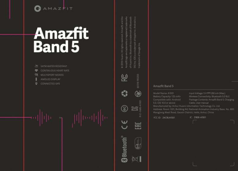 Будет ли Amazfit Band 5 лучше, чем Xiaomi Mi Band 5? Появились первые данные про браслет Huami