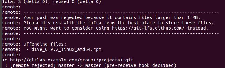 Блокируем заливку приватных ключей, архивов, больших файлов и не только в Gitlab CE - 3