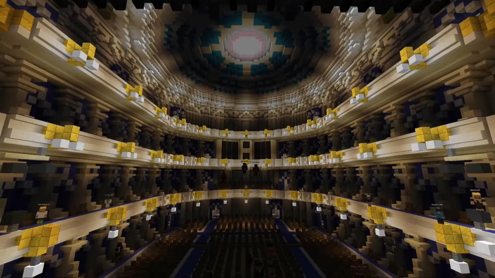 Реальный спектакль в виртуальной среде: Большой драматический театр открыл филиал в Minecraft - 3