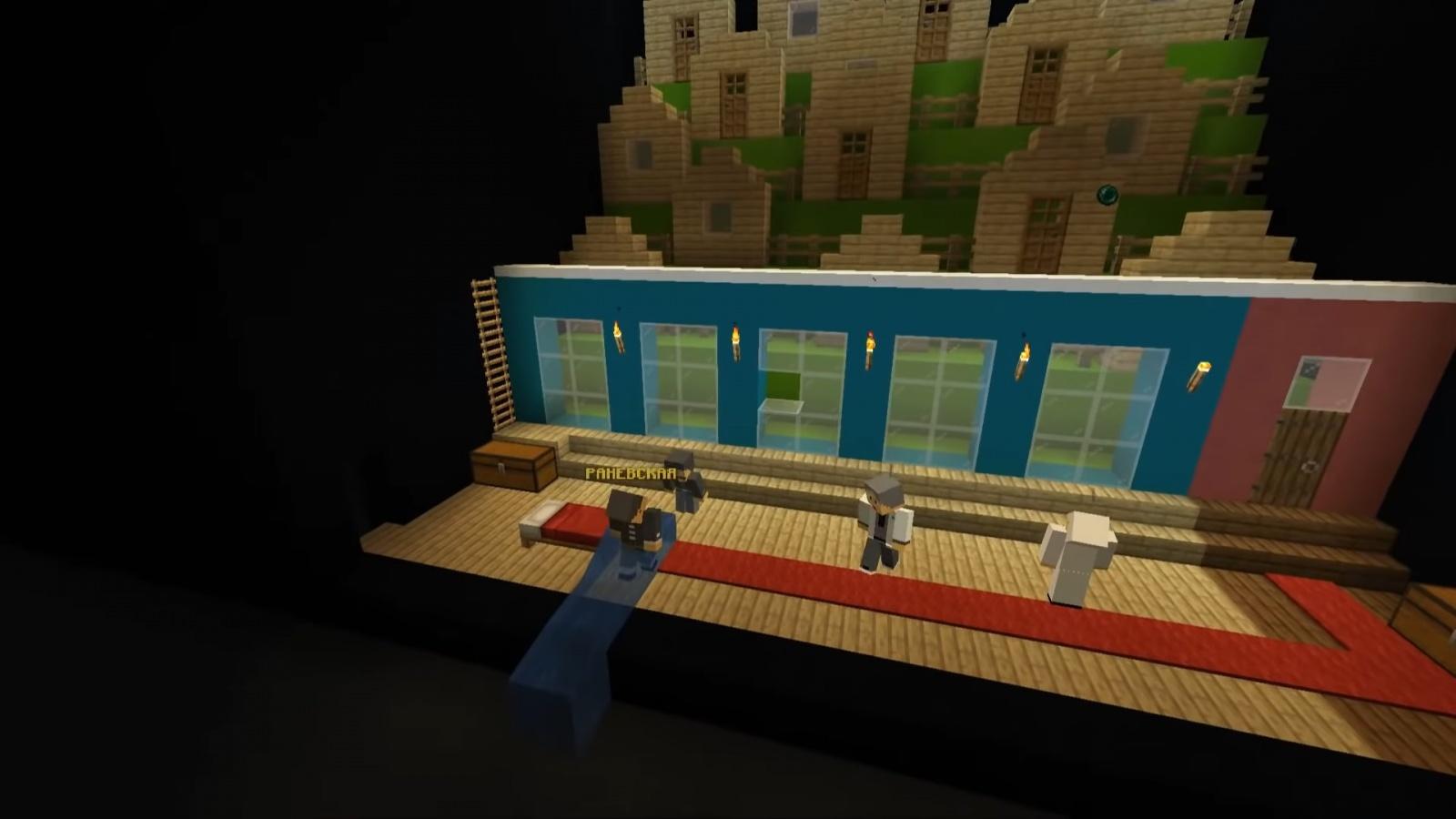 Реальный спектакль в виртуальной среде: Большой драматический театр открыл филиал в Minecraft - 4