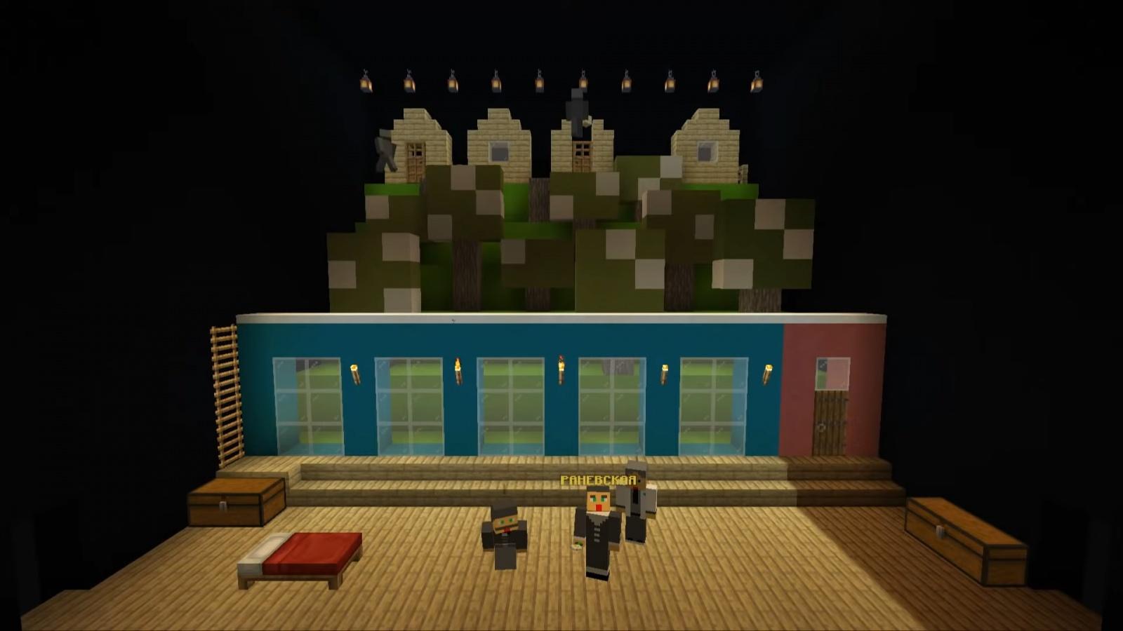Реальный спектакль в виртуальной среде: Большой драматический театр открыл филиал в Minecraft - 5