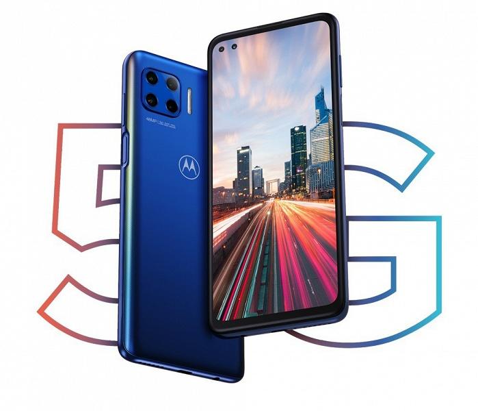 90-герцевый экран, 5G, большой аккумулятор и американский бренд при цене в 350 евро. Представлен Motorola Moto G 5G Plus